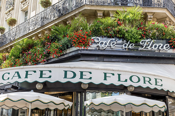 Café de Flore, between renown & fame